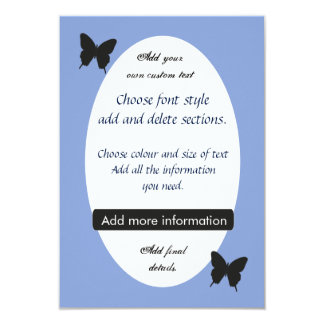 Customised Easter Butterfly or Wedding Invite