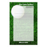 Customised Golf Stationery
