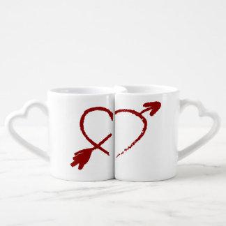 Customised Half Of My Heart Lovers Mugs