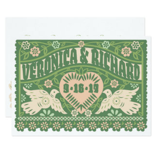 Customised Papel Picado Invitation