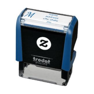 Customised Personalised Address Stamp