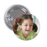 Customised Photo Birthday Button