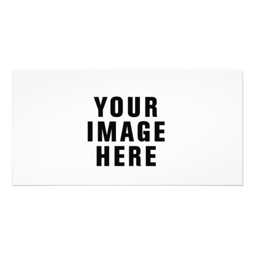 Customised Photo Card