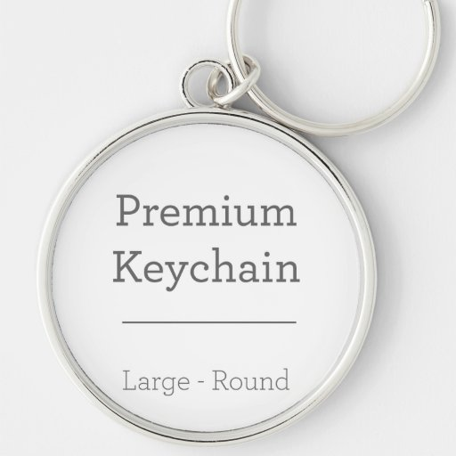 Customised Round Photo Keychain