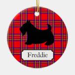 Customised Scottish Terrier Ornament