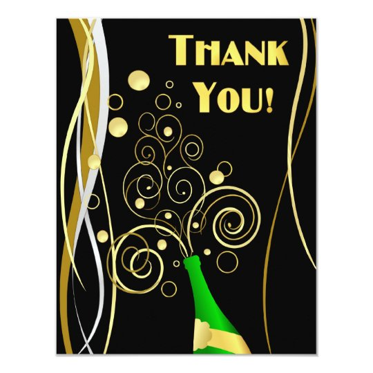 Customised Thank You Cards - with Photo optional