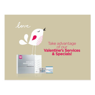 Customizable 2015 Valentine's Day Postcard v.2