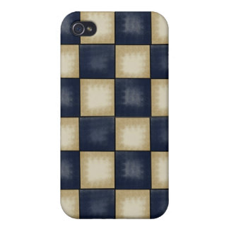 Customizable 4G  Iphone case Vintage plaid iPhone 4/4S Case