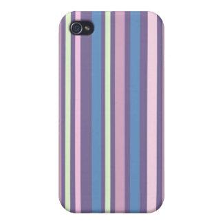 Customizable 4G  Iphone case Vintage stripes iPhone 4/4S Case