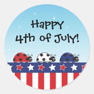 Customizable 4th of July Sticker