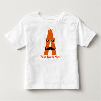 Customizable A Letter T-Shirt