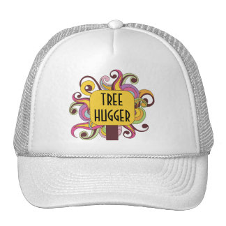 Customizable Abstract Tree Hugger Cap