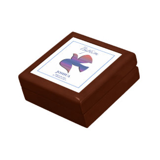 Customizable, Adult Baptism Dove Gift Box