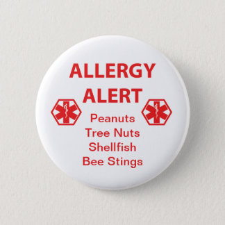 Customizable Allergy Alert Button