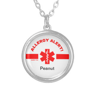 Customizable Allergy Alert Necklace