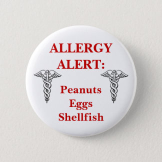 Customizable allergy button