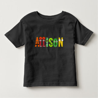 Customizable Allison Letter T-Shirt
