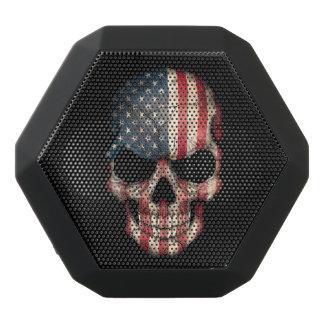 Customizable American Flag Skull Black Boombot Rex Bluetooth Speaker