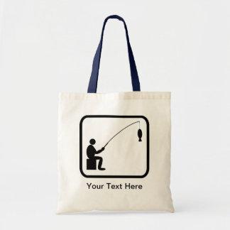 Customizable Angler Logo Tote Bag