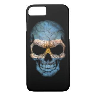 Customizable Argentine Flag Skull iPhone 8/7 Case