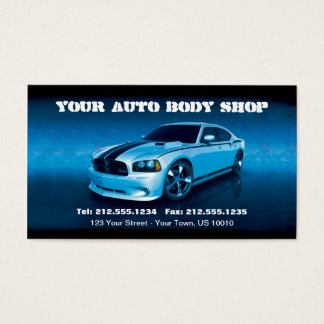 CUSTOMIZABLE Auto Body Mechanic Car Detailing