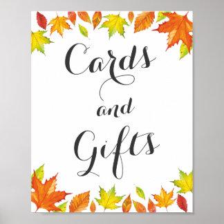 Customizable Autumn Sign, Fall Leaves Decor