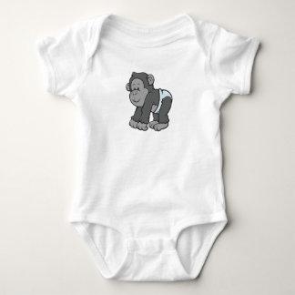 Customizable Baby Ape Baby Bodysuit