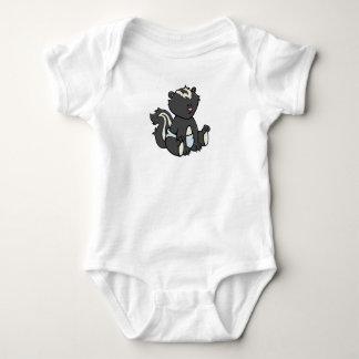 Customizable Baby Skunk Baby Bodysuit