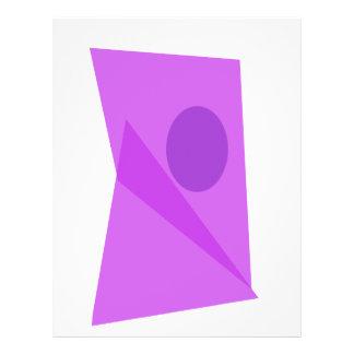 Customizable Background Color Purple Door Flyers
