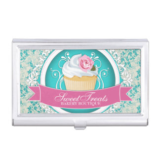 Customizable Bakery Business Card Holder