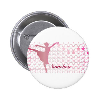 Customizable: Ballerina 6 Cm Round Badge