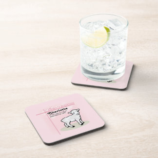 Customizable, Baptism, Pink, Girl, Lamb Coaster