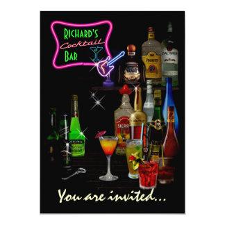 Customizable Bar Card
