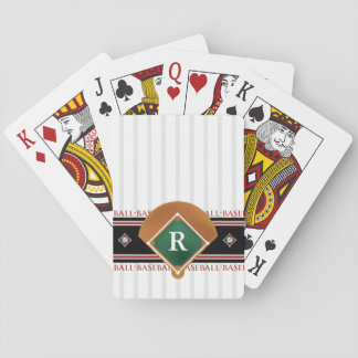 Customizable Baseball Playing Cards