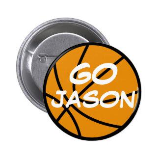 Customizable Basketball Button