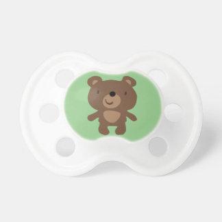 Customizable Bear Baby Pacifier