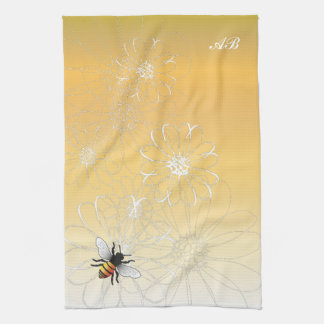 Customizable: Bee Tea Towel