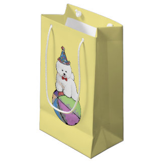 Customizable Bichon Frise Gift Bag