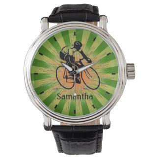 Customizable  Biking Design Watch