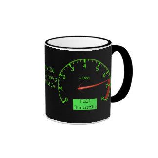 Customizable Birthday Gear Petrol Head Coffee Mugs