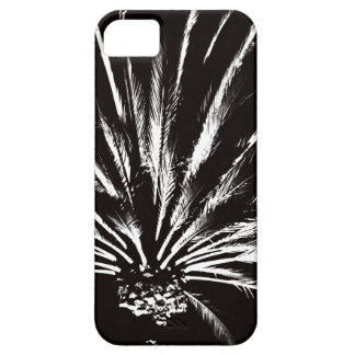 Customizable Black and White Palm Tree Barely There iPhone 5 Case