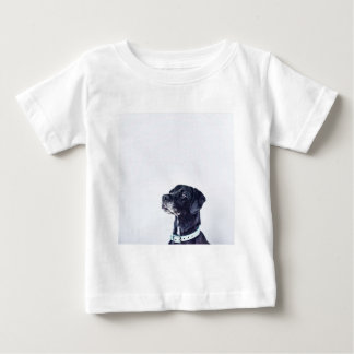 Customizable Black Labrador Retriever Baby T-Shirt