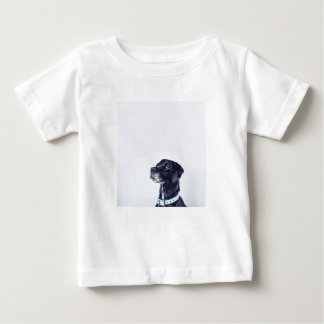 Customizable Black Labrador Retriever Baby T-Shirt