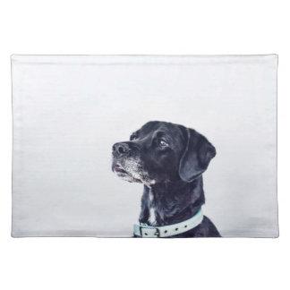 Customizable Black Labrador Retriever Placemat