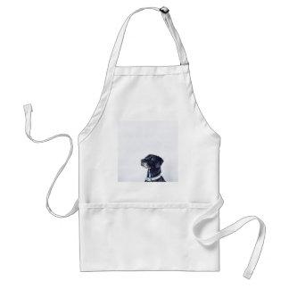 Customizable Black Labrador Retriever Standard Apron