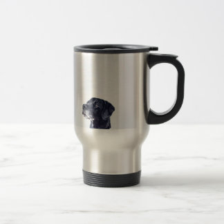 Customizable Black Labrador Retriever Travel Mug