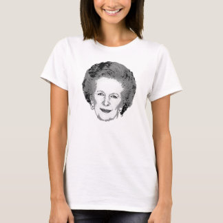 Customizable Black & White Margaret Thatcher Shirt