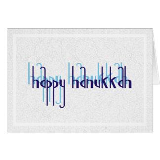 Customizable Blank HAPPY HANUKKAH Holiday Card
