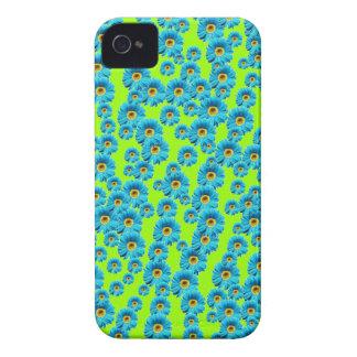 Customizable Blue Daisies Case-Mate iPhone 4 Case
