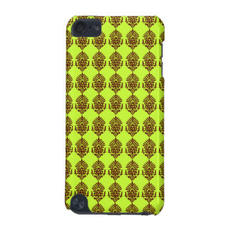 Customizable Brown India Block Print iPod Touch (5th Generation) Covers